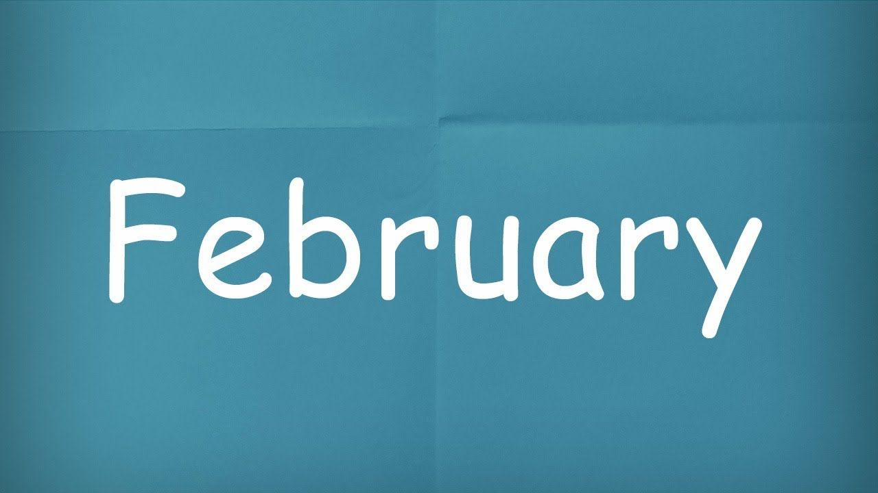 How Do You Pronounce February  12 books to read, How to
