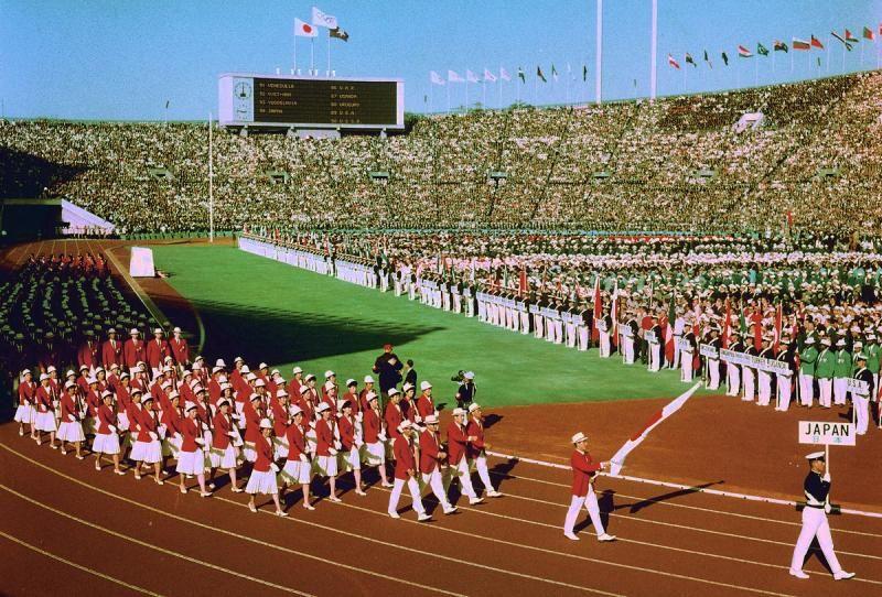 1964年10月10日東京オリンピック...