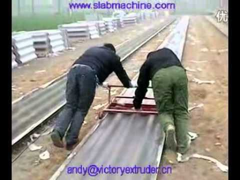 Cement Roof Tile Making Machine Roofing Roll Forming Machine Roof Tiles Mould Youtube Making Machine Roof Tiles Cement