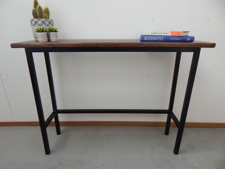 Narrow Console Table Hallway Shelf