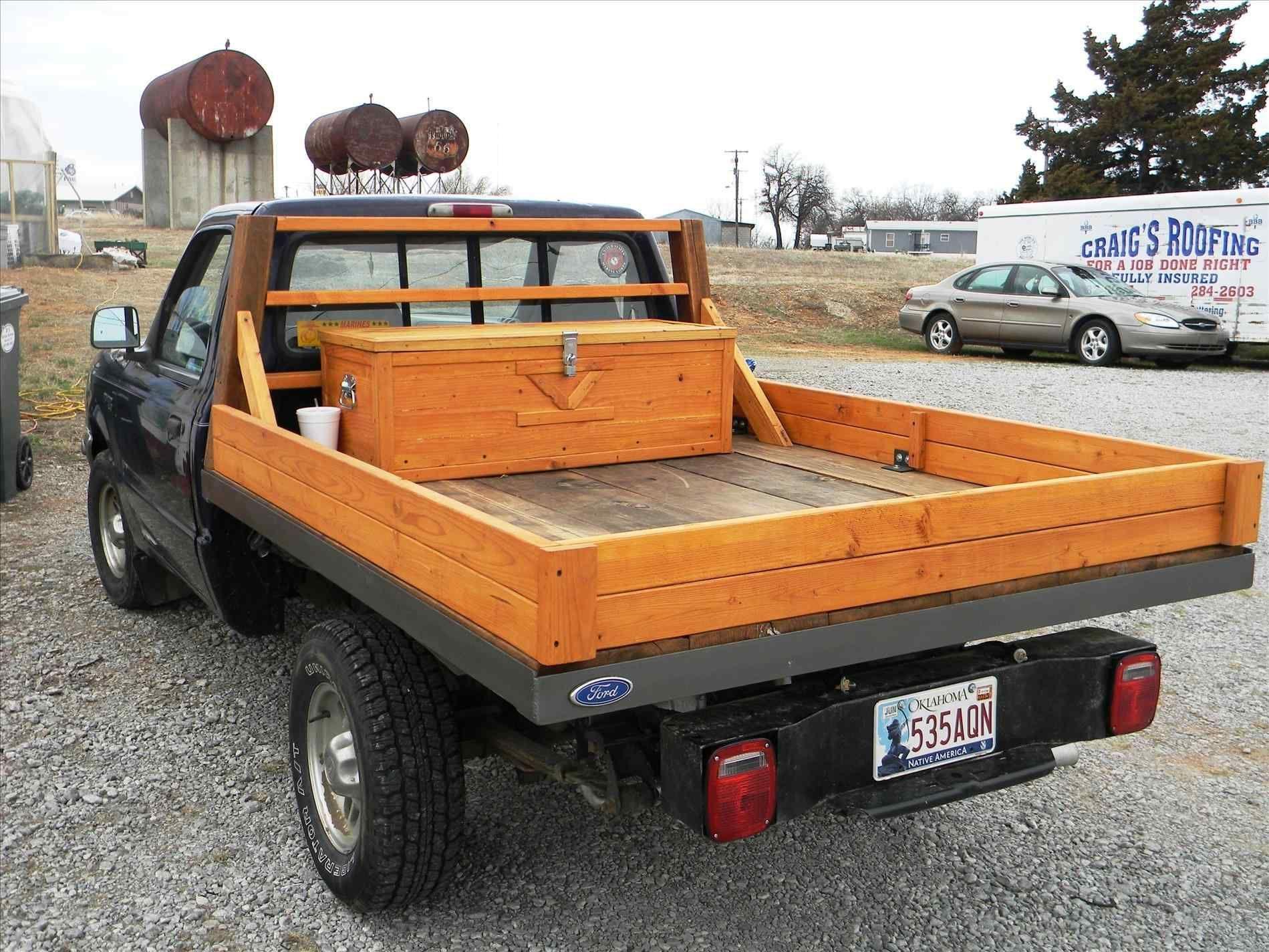 Pin by David Batzer on Truck Stuff Wooden truck bedding