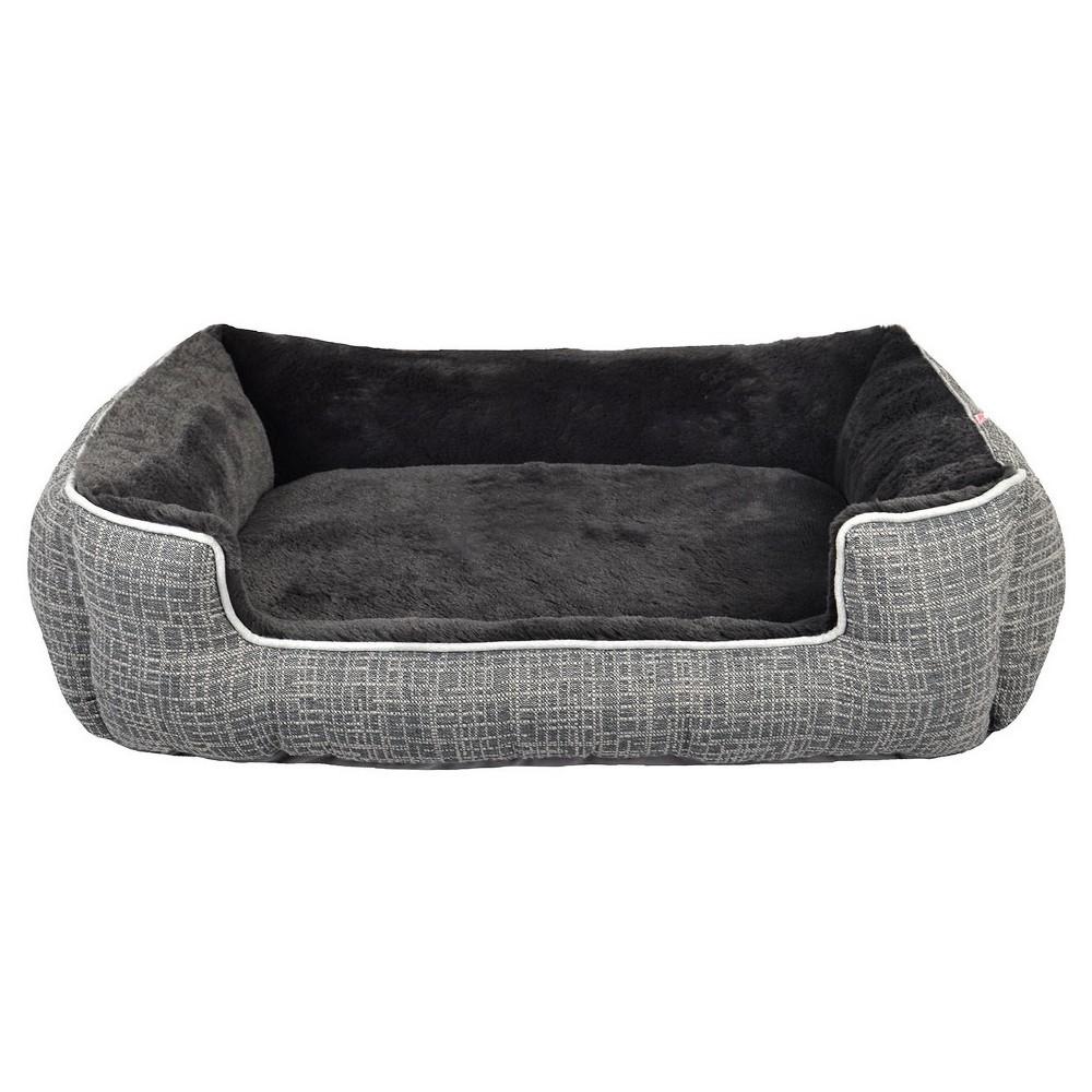 Cuddler Pet Bed Radiant Gray M Boots Barkley Dog Bed