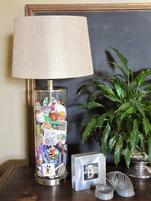 Memory Jar Lamps A Place To Keep Collectibles And Memorabilia
