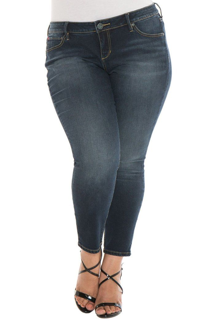 294b07d25c039 SLINK JEANS - Skinny Ankle Jeans (Sal) (Plus Size)