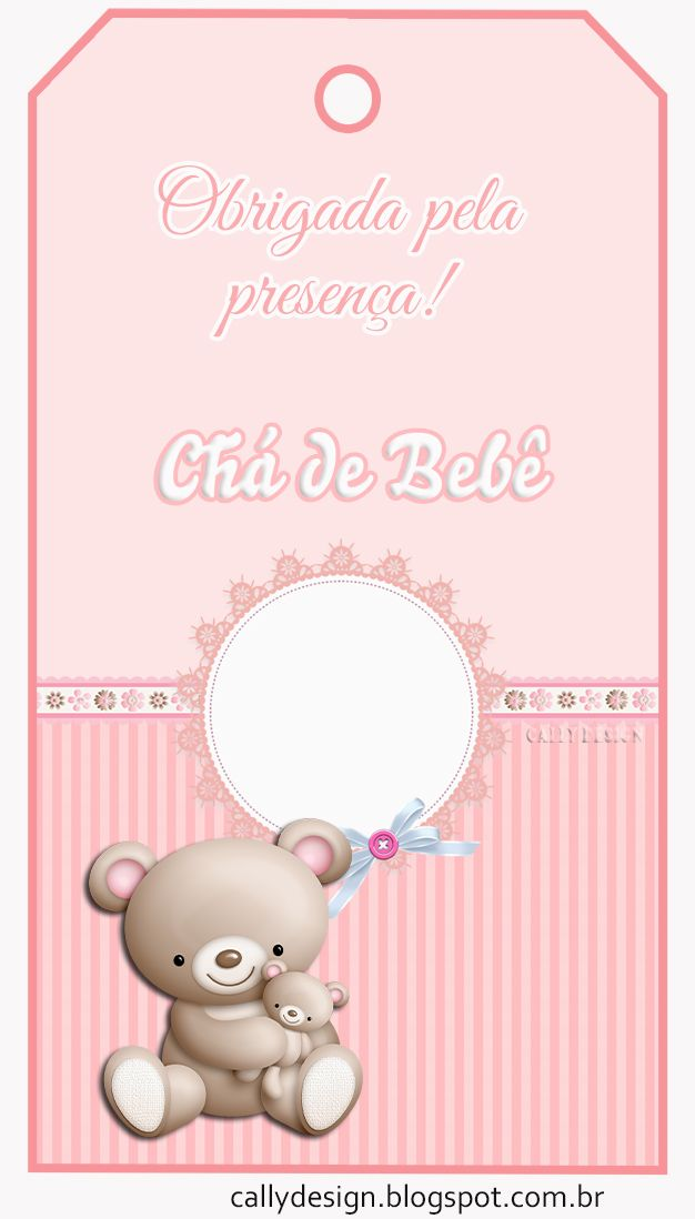 Free Printable Pink Bear Birthday Kit 024 Jpg 626 1 098 Piksel