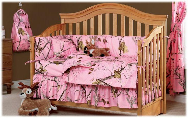 B Pro S Realtree Apc Pink Crib Bedding Collection Camocribbedding Camobedding