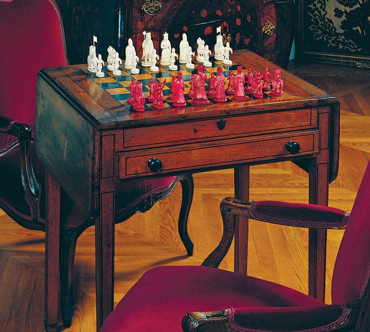 The Emperor S Chess Set Biltmore Biltmore House Biltmore Estate Biltmore