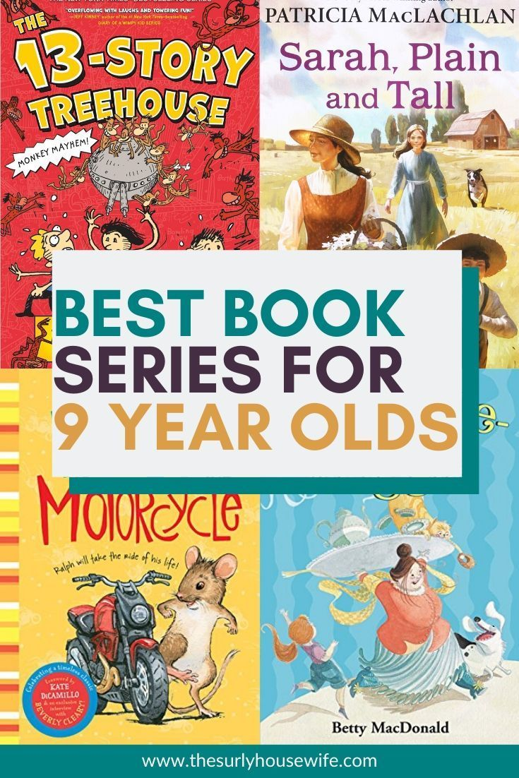 10 of the best book series for third graders and up in