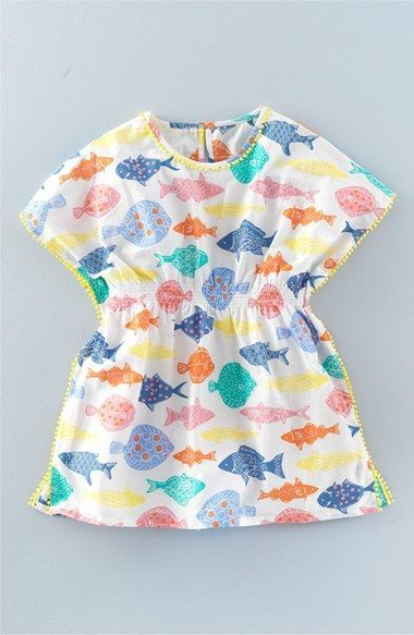 25f0a02317 Mini Boden 'Holiday' Cover-Up Caftan (Toddler Girls, Little Girls & Big  Girls)