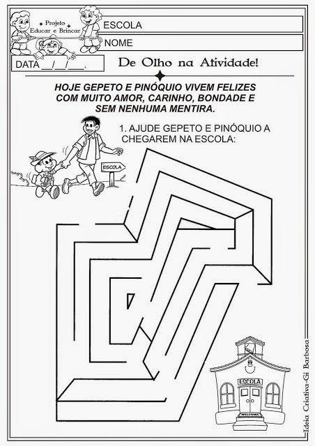 A BALEIA DE pinóquio - educação infantil - Pesquisa Google ...