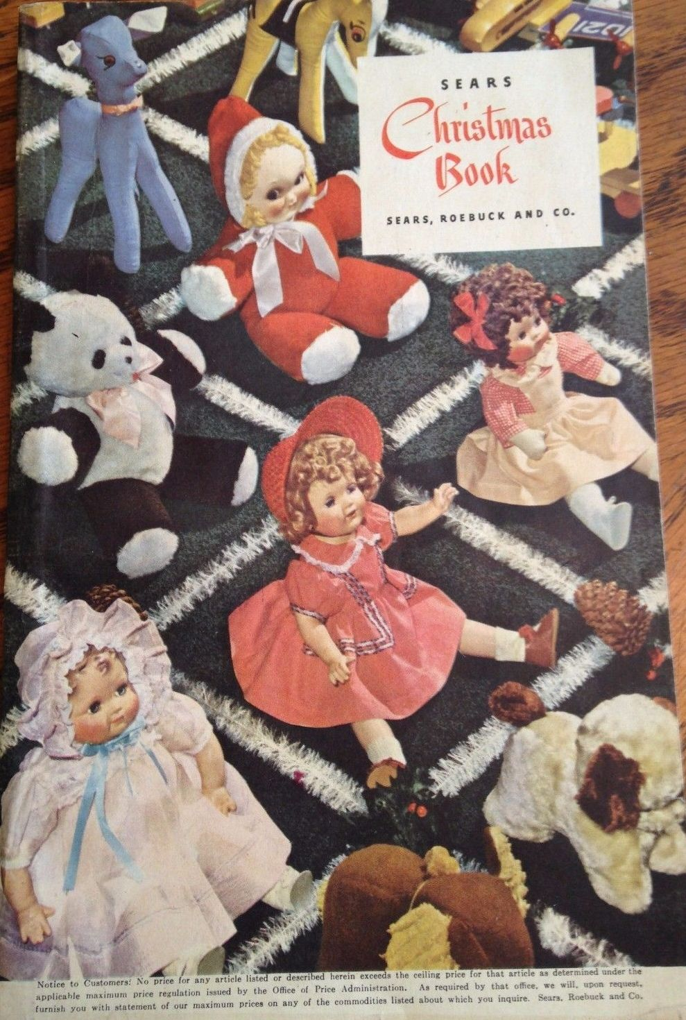 1944 Sears | 1940's Doll Catalog Pages | Christmas catalogs
