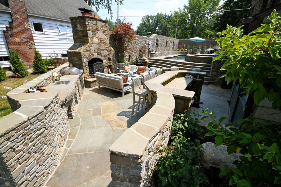 A wonderful piece of example for use of natural stone for ...