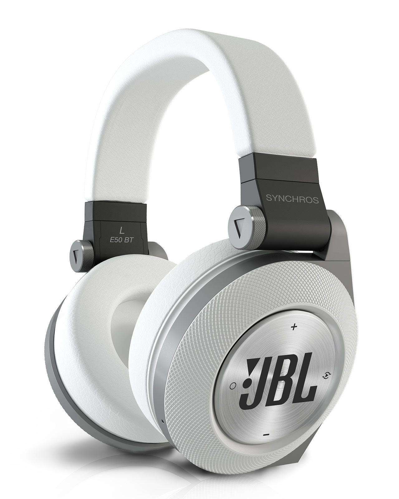 Jbl Silver Tone Synchros E50bt Wireless On Ear Headphones