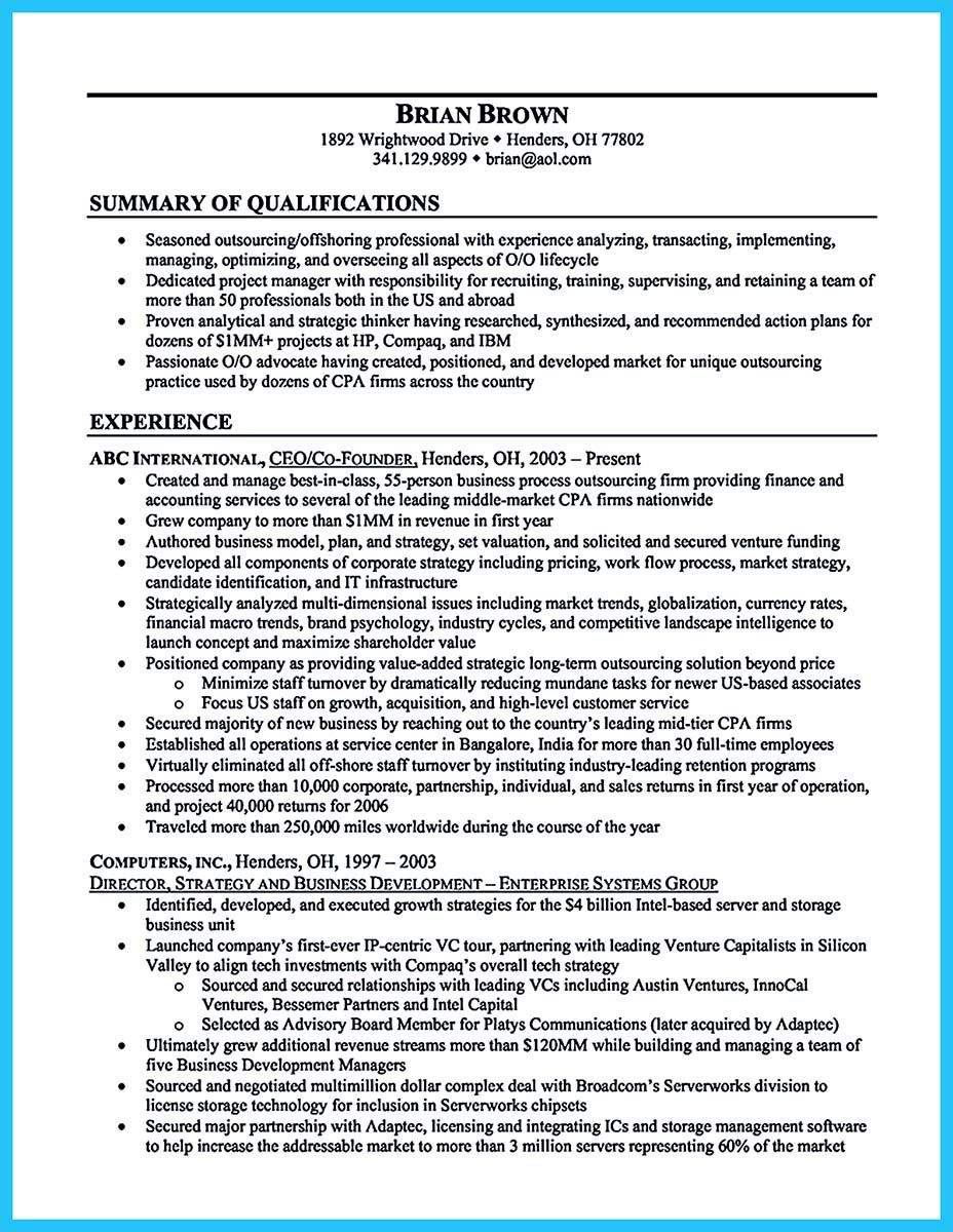 Business Resumes Template Nice Special Guides For Those Really Desire Best Business School
