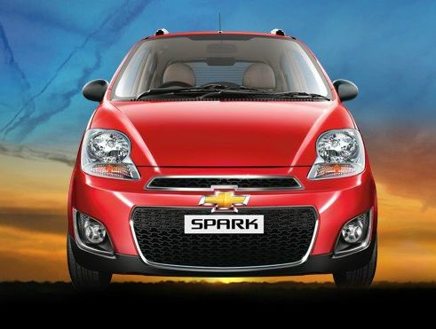 The All New Chevrolet Spark Small Car Has Been Launched In India
