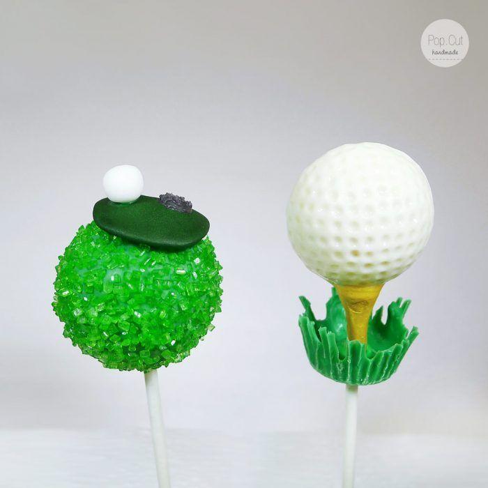 cake pops golf