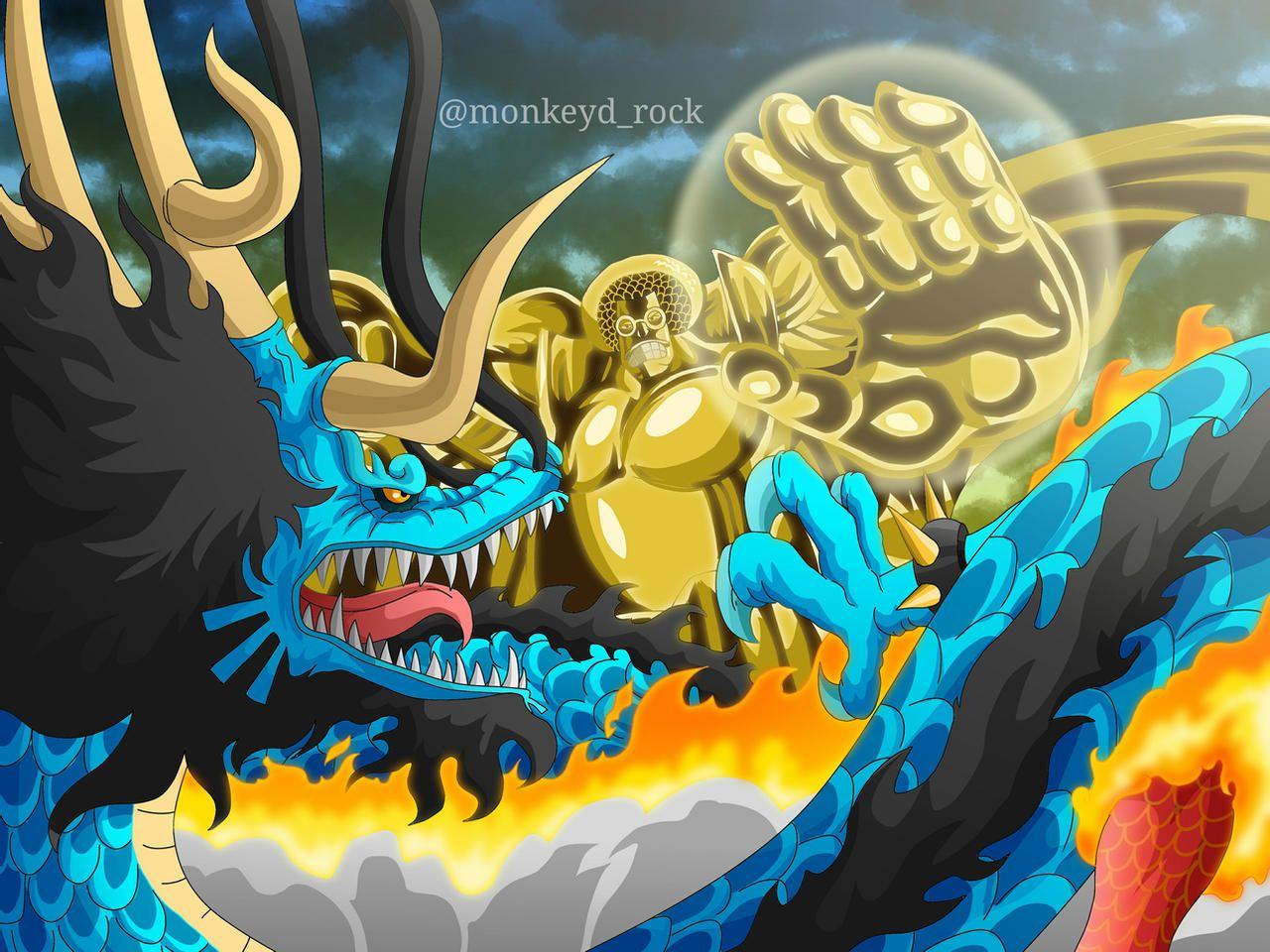 Kaido vs Sengoku - One Piece | Animes wallpapers, Anime, Desenho de anime