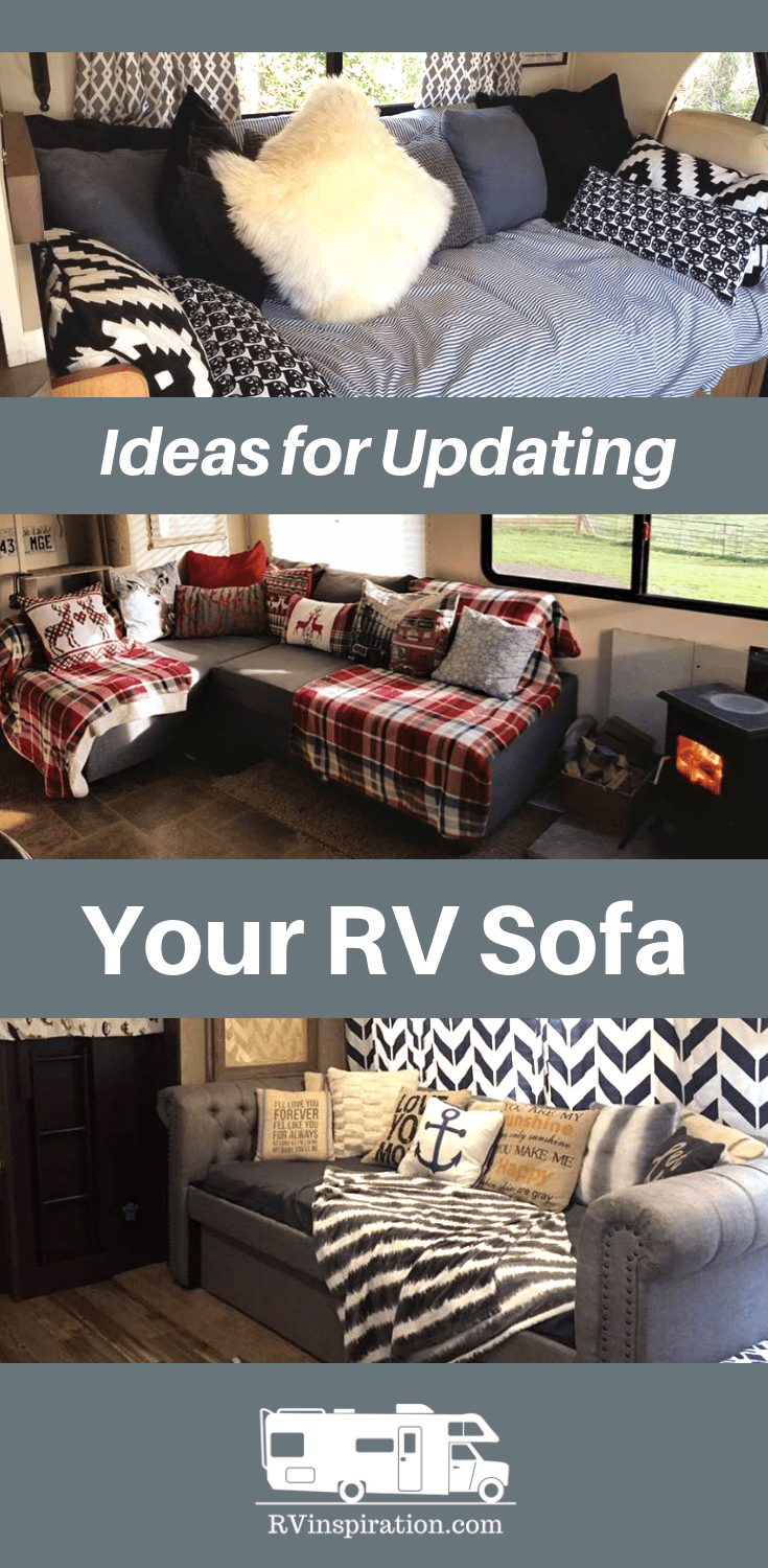 Rv Sofa Bed Replacement Ideas W Pictures Living The Rv