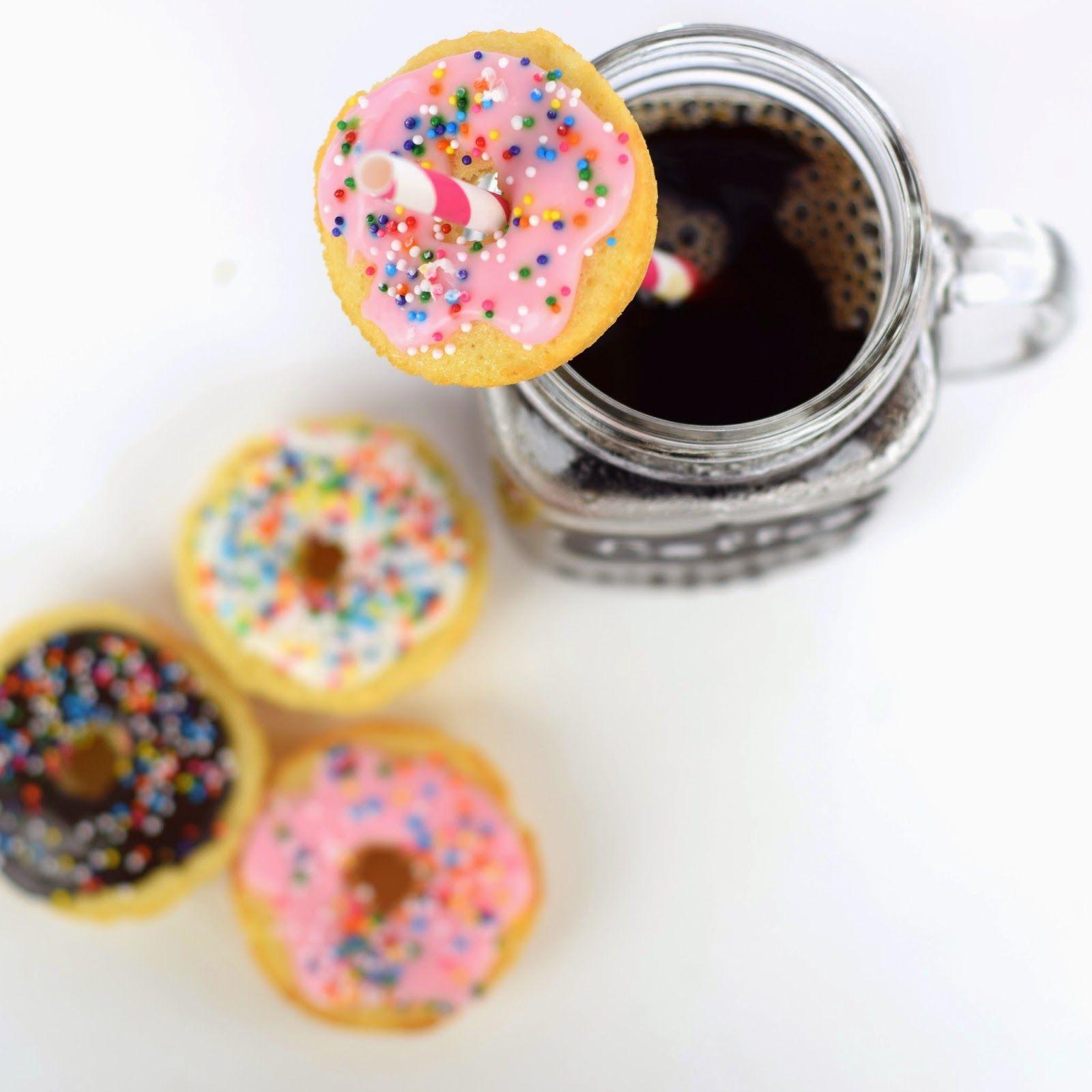Mini Donut & Coffee Recipe | http://www.publiclivessecretrecipes.com/2015/03/coffee-mini-donuts-recipe.html