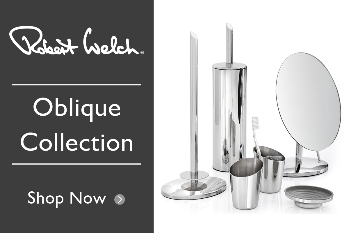 New: Robert Welch Oblique Range - Explore our latest bathroom ...