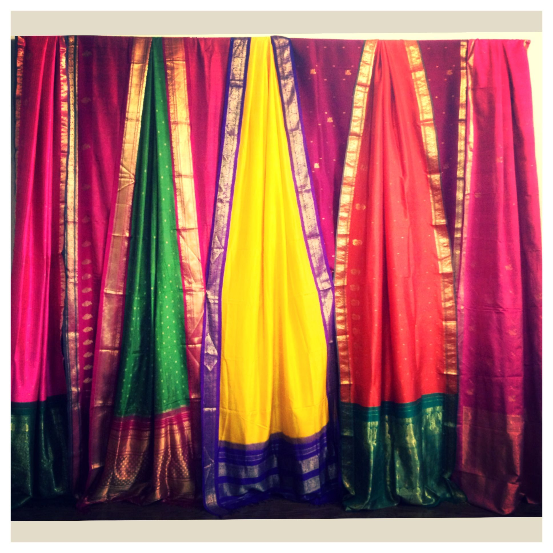 Sangeet Color Theme Inspiration! For Indian Wedding