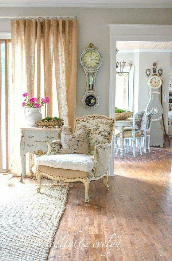 Vintage Deko, Inneneinrichtung, Haushalte, Wohnen, Französisches  Bauernhaus, Land Französisch, Französisches Häuschen, Stühle Im  Französischen Landhausstil, ...