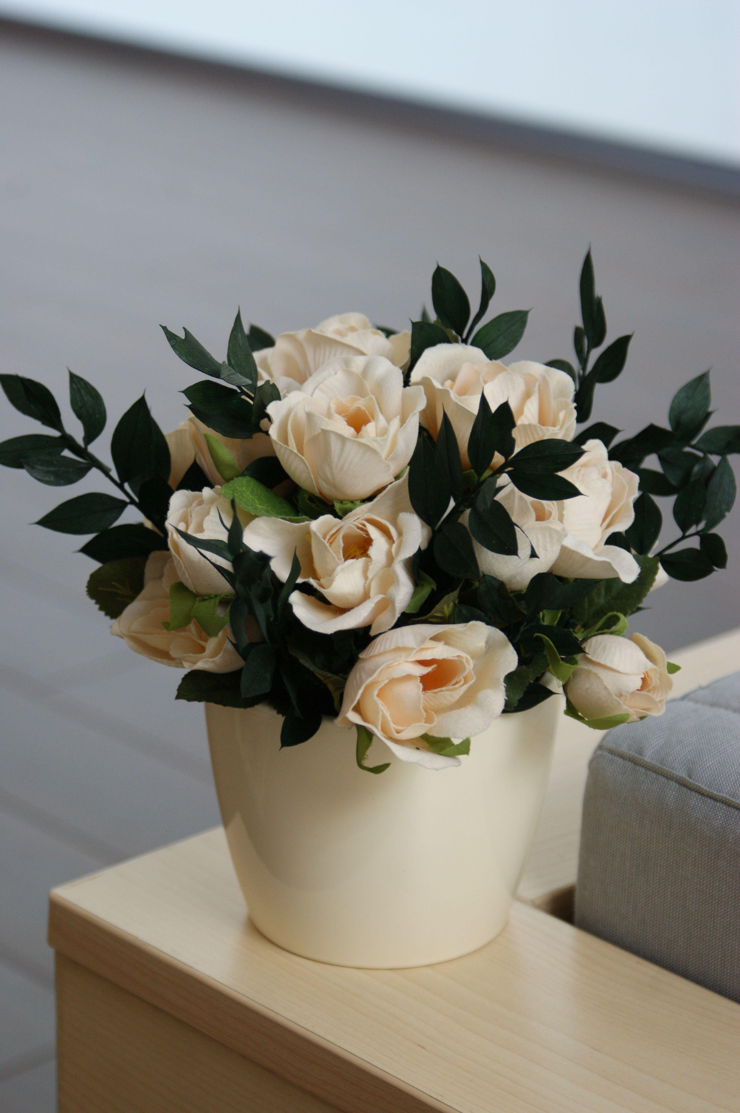 Aranjament Flori Artificiale Pastel Floral Idei De Prezentare