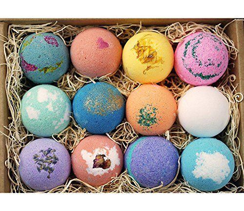 Lifearound2angels 12 bath bombs gift set usa made with fresh lifearound2angels 12 bath bombs gift set usa made with fresh ingredients shea coco butter to negle Gallery