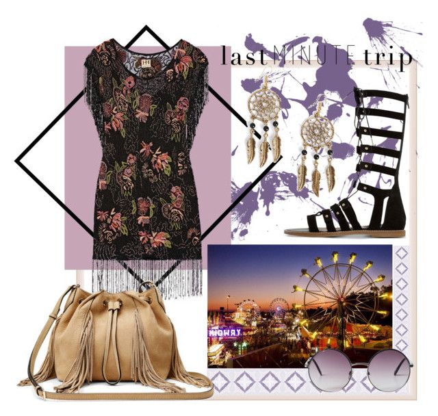 """""""LastMinuteTrip"""" by alina-euler ❤ liked on Polyvore featuring Boohoo, Haute Hippie, Dune, Monki and Diane Von Furstenberg"""