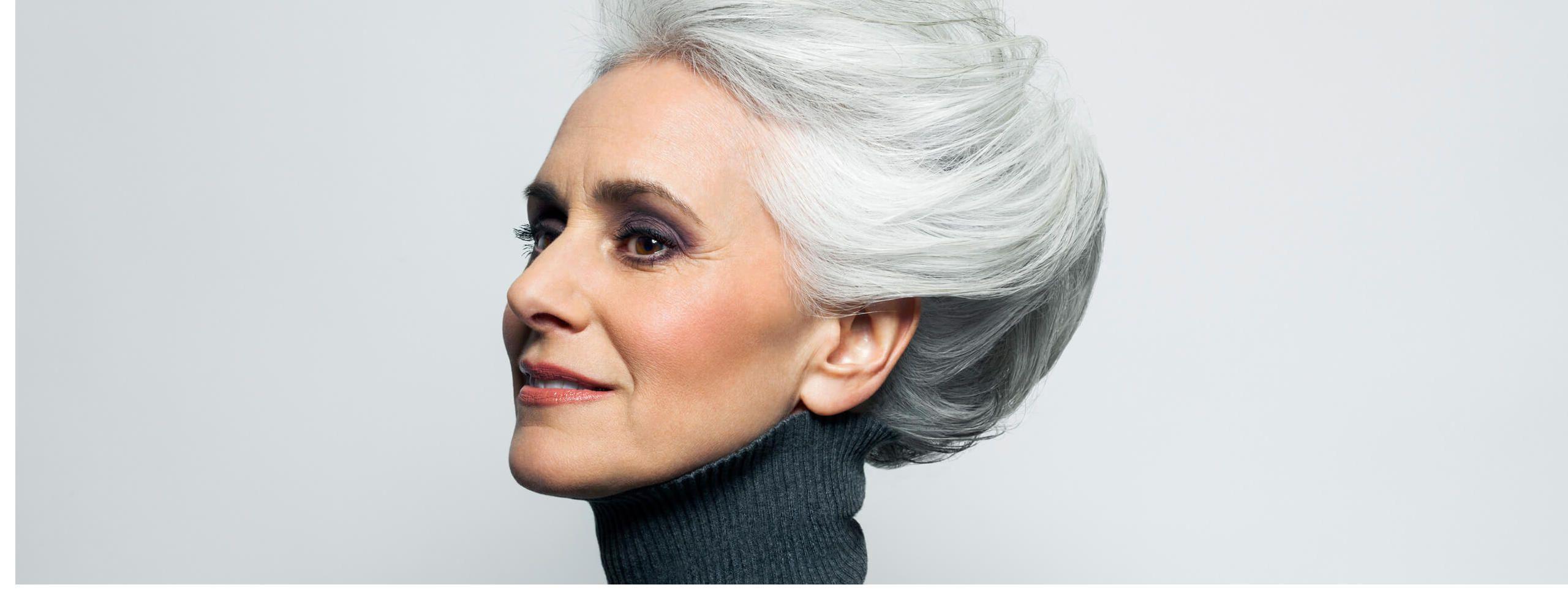 frisuren graue haare - neue frisuren für frauen 2018