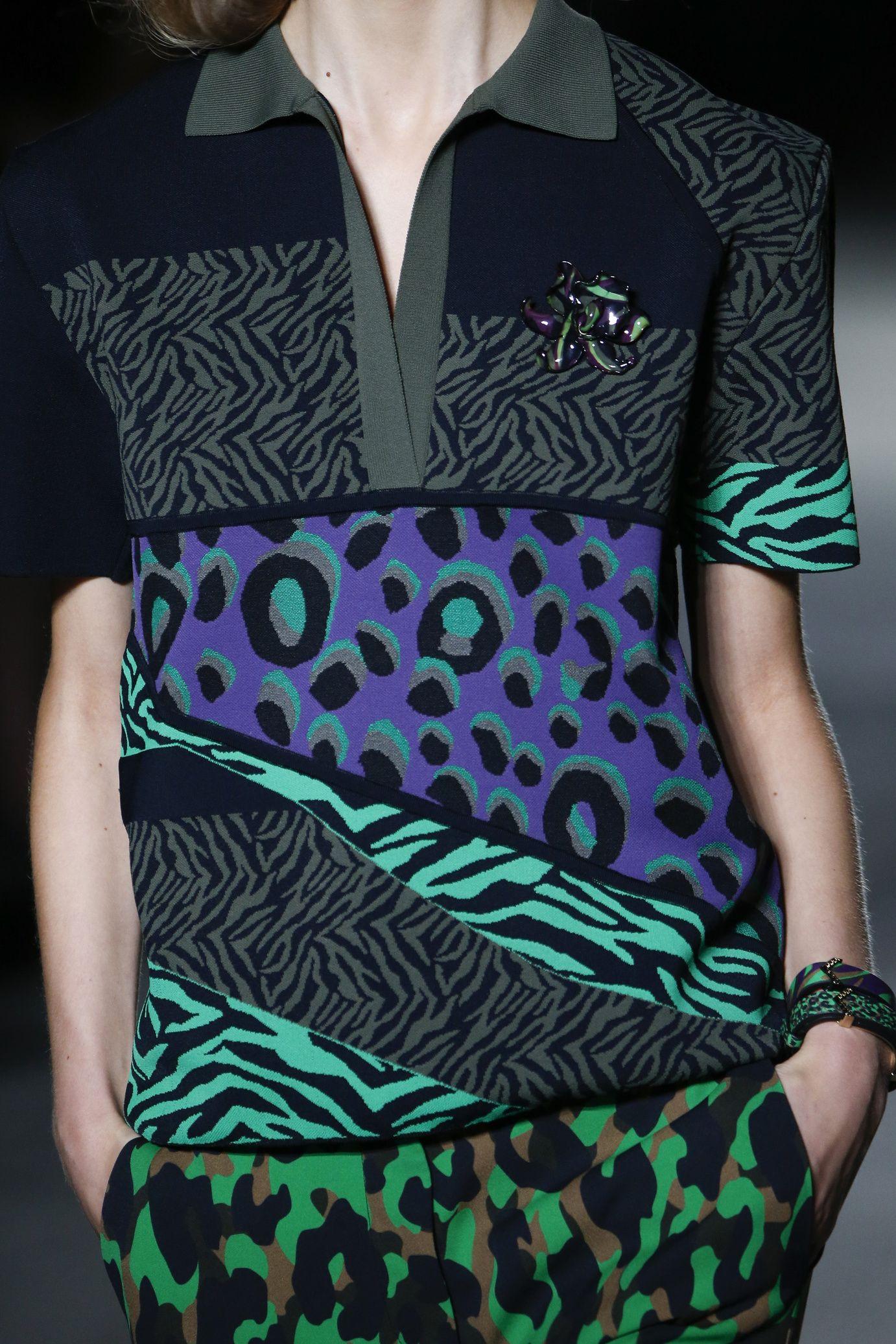 Défilé Versace Printemps-été 2016