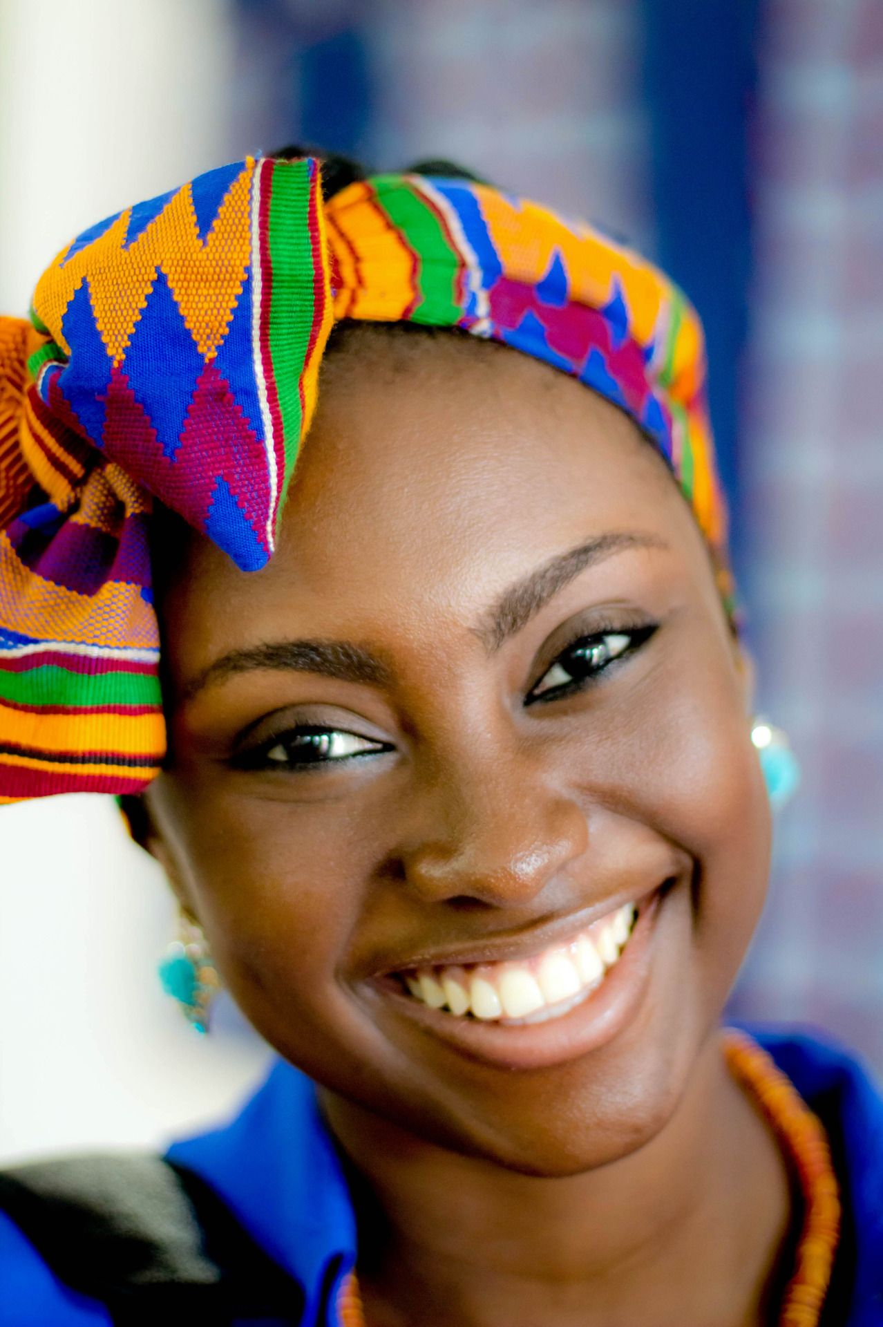 Falling In Love With African Fashion Oreosandheartbreaks Oh Yes I Have Dimple It Beautiful Smile Happy People Smile Face