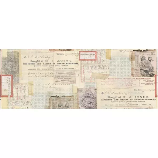 Tim Holtz Idea-ology Collage Paper 6yds Document TH93951