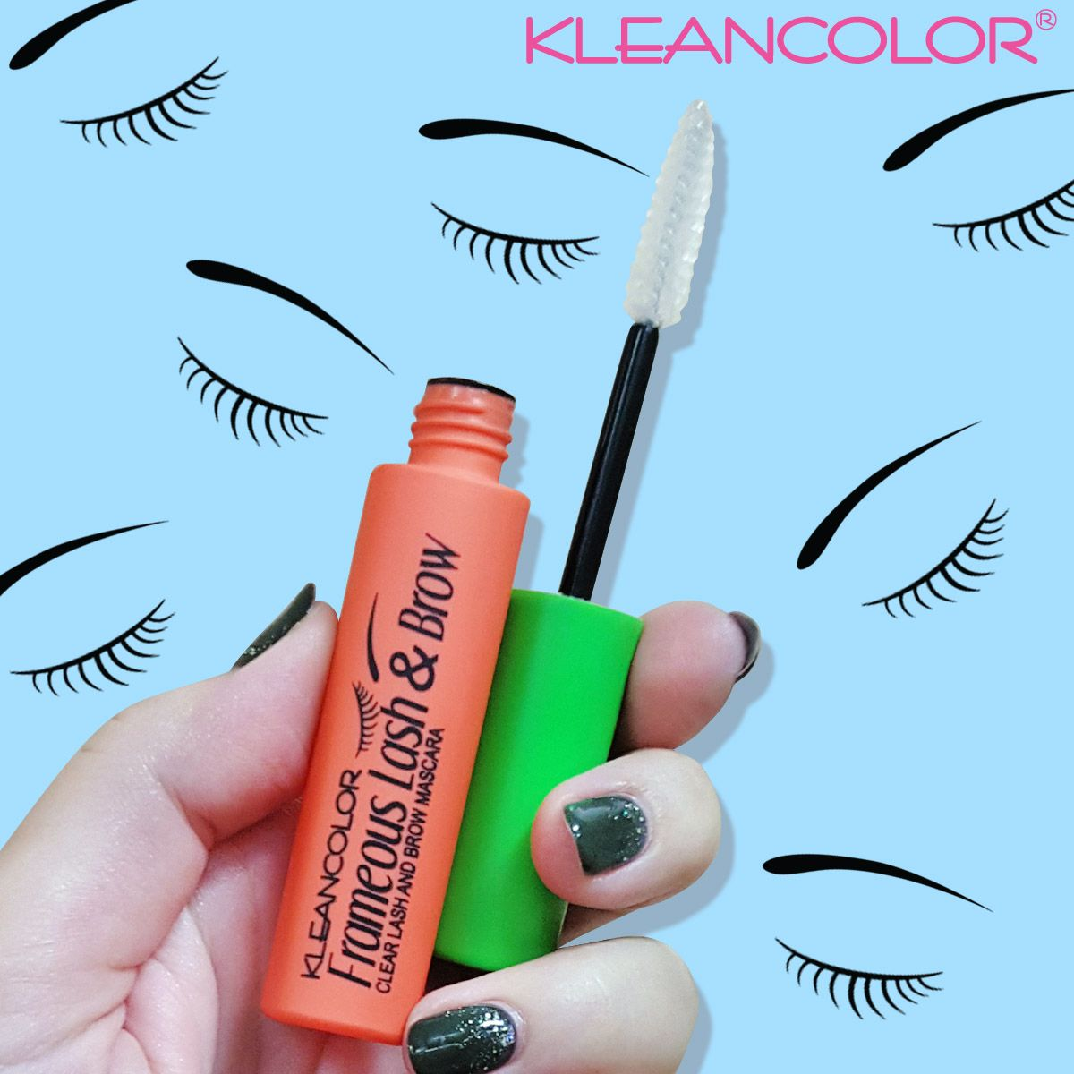 c2453c4ca3d Clear your schedule and get your hands on Frameous Lash & Brow Clear Lash  and Brow Mascara (MS1810). The clear gel formula lets you subtly enhance  your ...