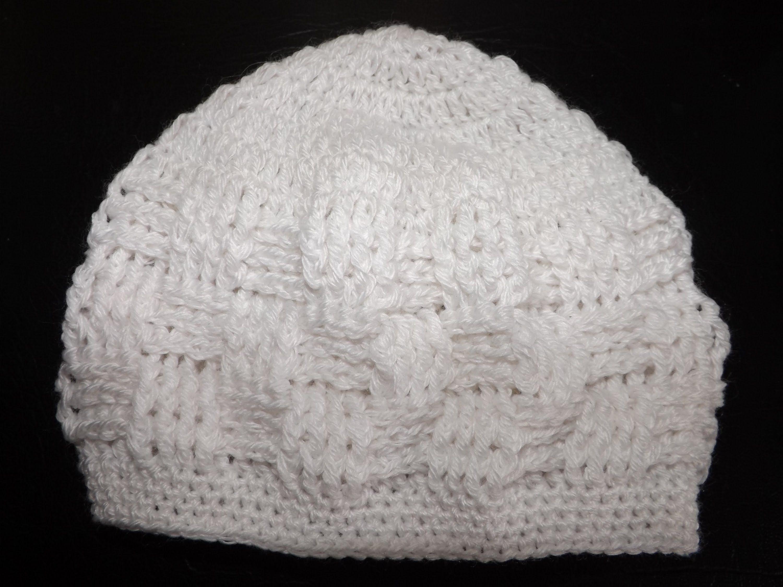 Crochet Gorrito Para Bebe\' Recien Nacido. principiantes | Crochet ...