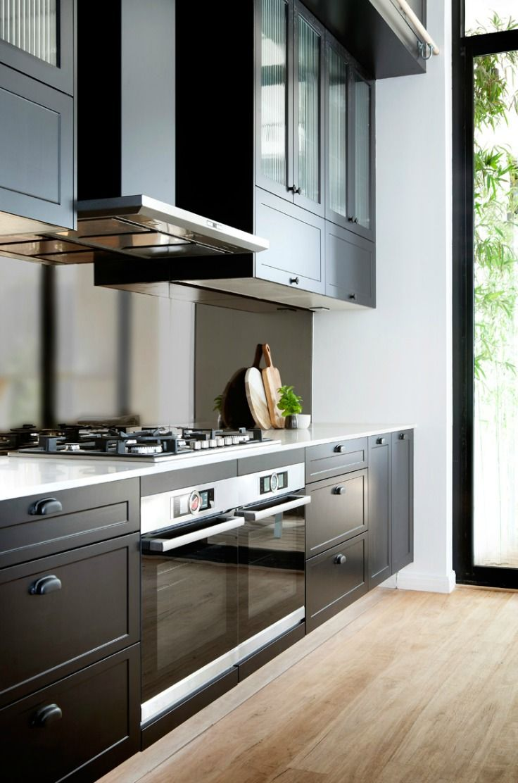 4 Modern Kitchen Colour Schemes Inspiration Tlc Interiors Kitchen Colour Schemes Modern Kitchen Modern Shaker Kitchen
