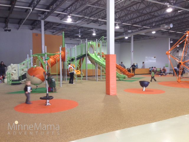 Good times park another great winter option for Indoor gym equipment for preschool