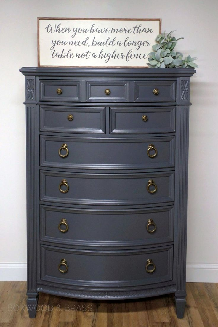 Queenstown Gray Milk Paint Gray Painted Furniture Bedroom