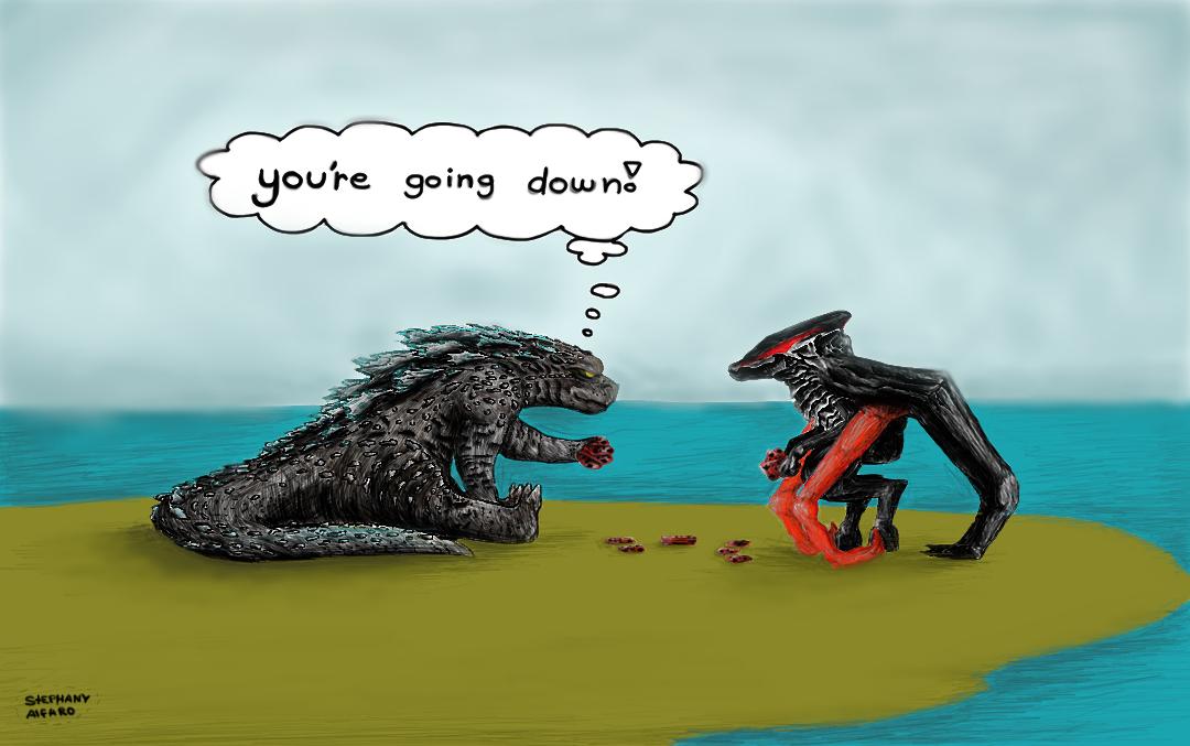 Godzilla Vs. Muto by on
