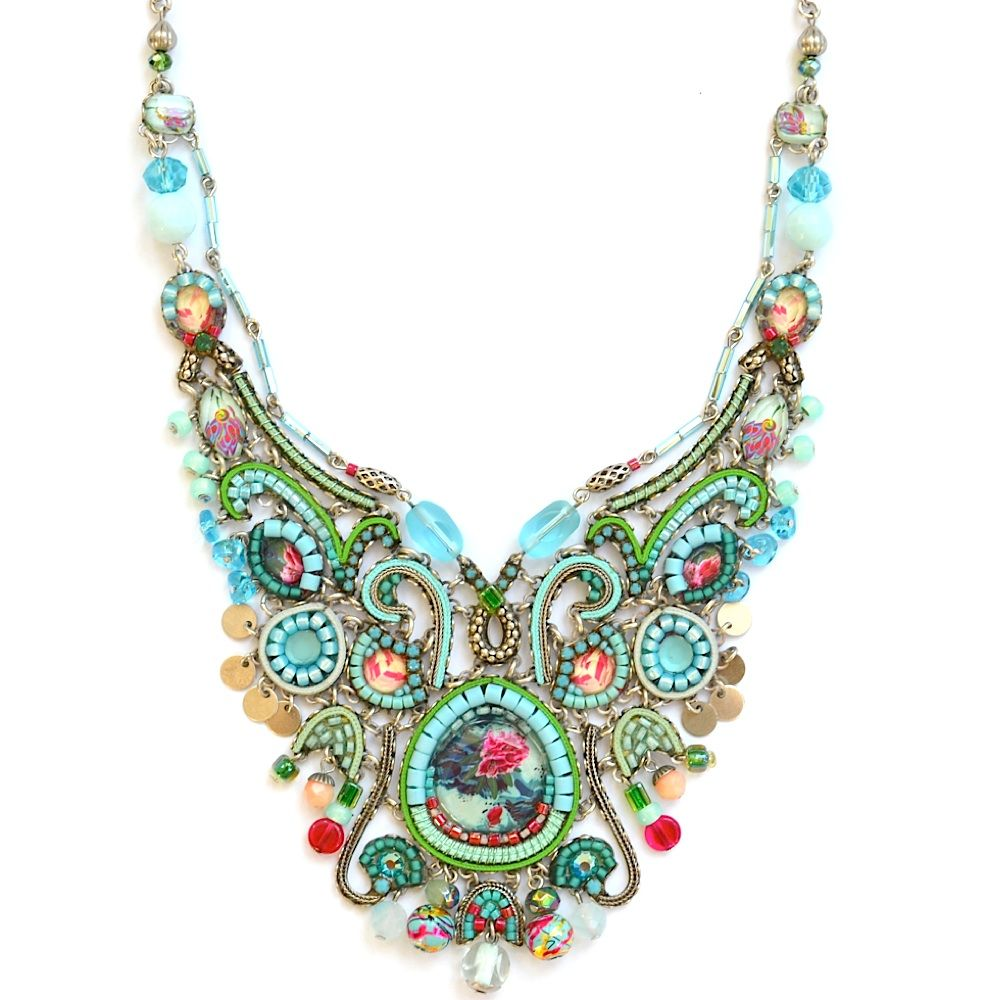 Ayala Bar Collier Classic 3164 Bar Jewelry Fiber Art Jewelry Jewelry Art