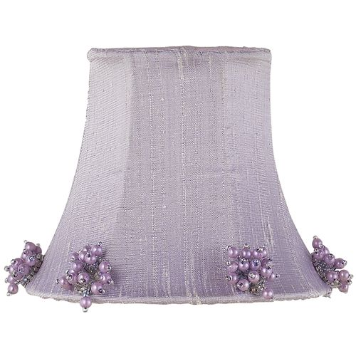 Special Offers Available Click Image Above: Lavender Pearl Burst Chandelier Shade