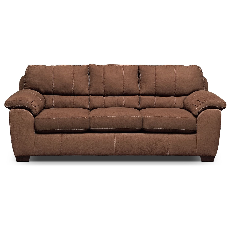 Colton IV Queen Memory Foam Sleeper Sofa Value City