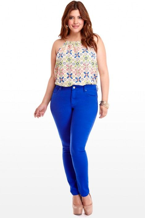 1000  images about Blue pants on Pinterest | Black blazers, Cobalt ...