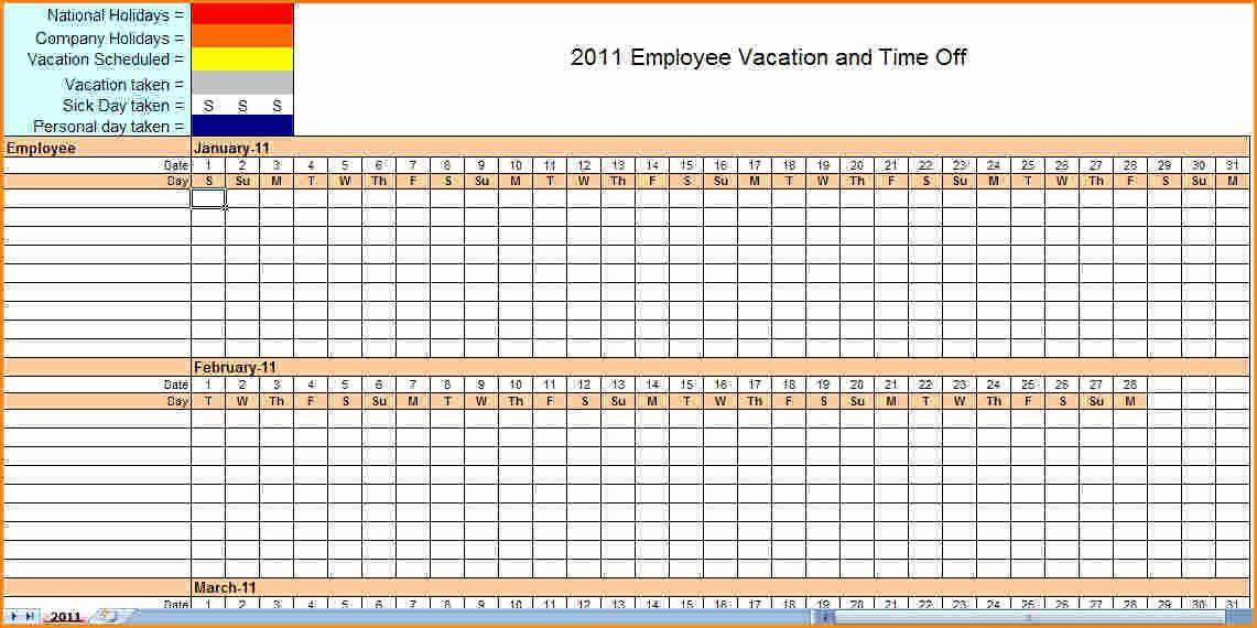 Inspirational Employee Work Schedule Template Excel In 2020