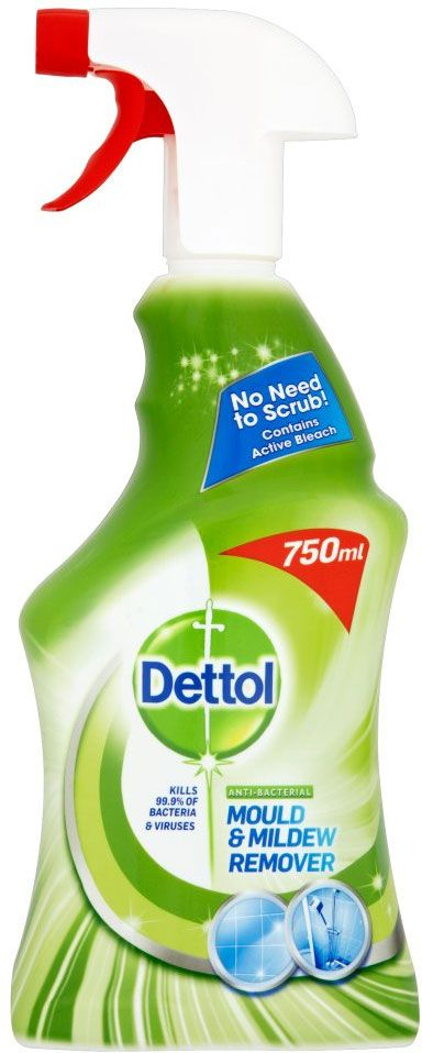 Buy Dettol Anti Bacterial Mould Mildew Remover Complete Clean Spray 750ml Online In Sainsbury S At Mysupermarket Mildew Remover Cleaning Household Cleaning