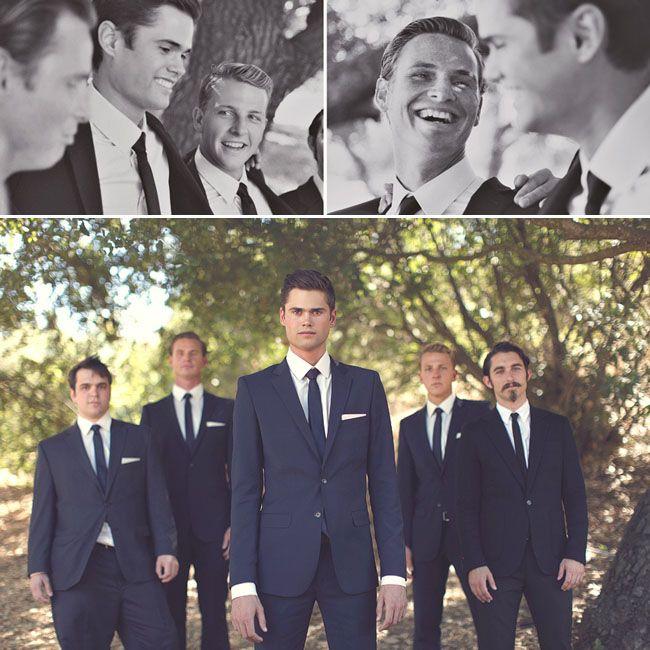Real Wedding: Hannah + Daniel\'s Rustic Wedding   Mad men, Mad and ...