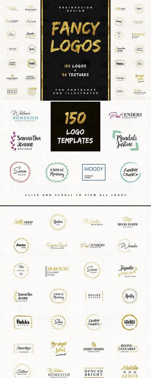 fancy logos branding logo templates 1085911 logos ideas