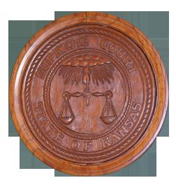 Kansas State Capitol Supreme Court logo Kansas