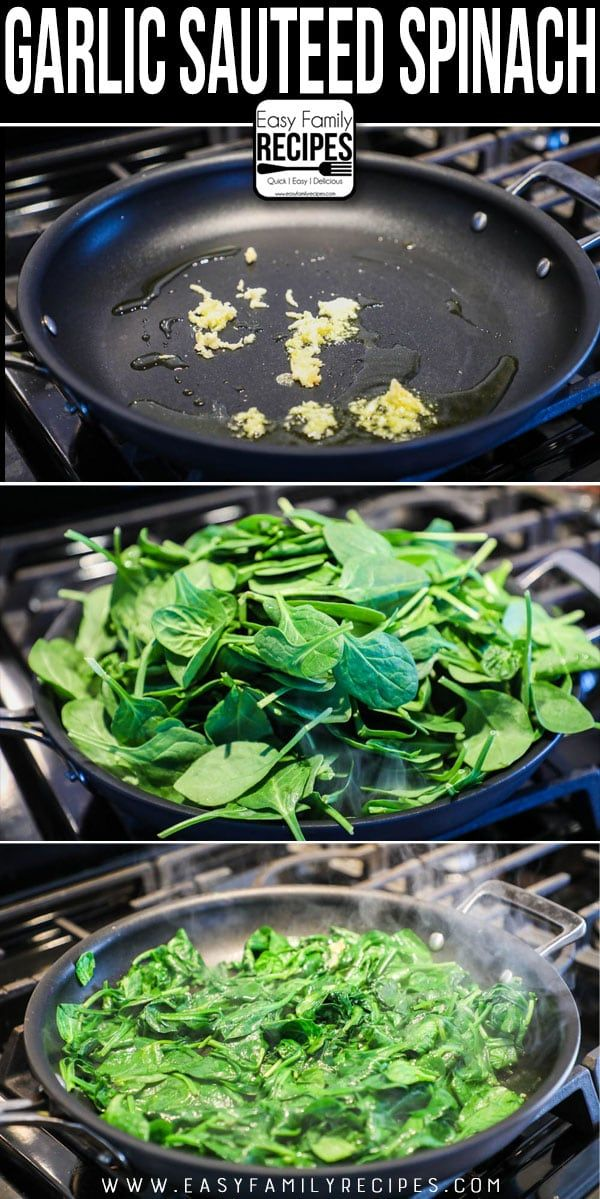 The BEST Sautéed Spinach - 5 Minute Side Dish - Ea