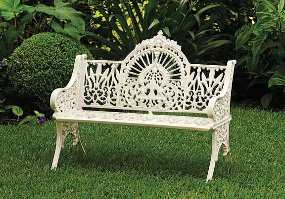 images about benches on   gardens, wisteria and, victorian garden decor, victorian garden decorating ideas, victorian garden party decorations